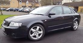 Audi A4 Saloon 2.0 FSI Sport, excellent condition, one careful owner from new, 81,000 miles only.