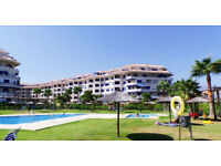 FRONT-BEACH LINE 3 BEDROOM APARTMENT IN MALAGA, SPAIN!!!