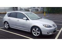 Mazda 3 sport, 04 plate, 2-litre petrol, MOT till August, 98k selling spares or repair