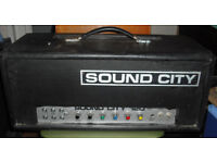 Sound City 120 70s vintage valve bass amplifier guitar amp EL34 SC120 tube B120