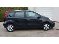 NISSAN Note Acenta, 5 door, 1.4 petrol, elec windows, elec mirrors, central locking, never damaged