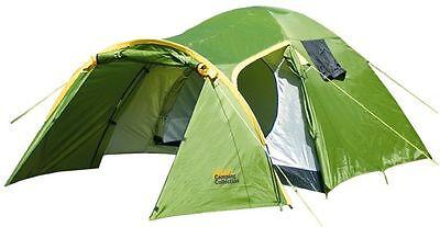 Happy People 70060 ADAC 3 Personen Zelt inkl. Zeltlampe und Ventilator