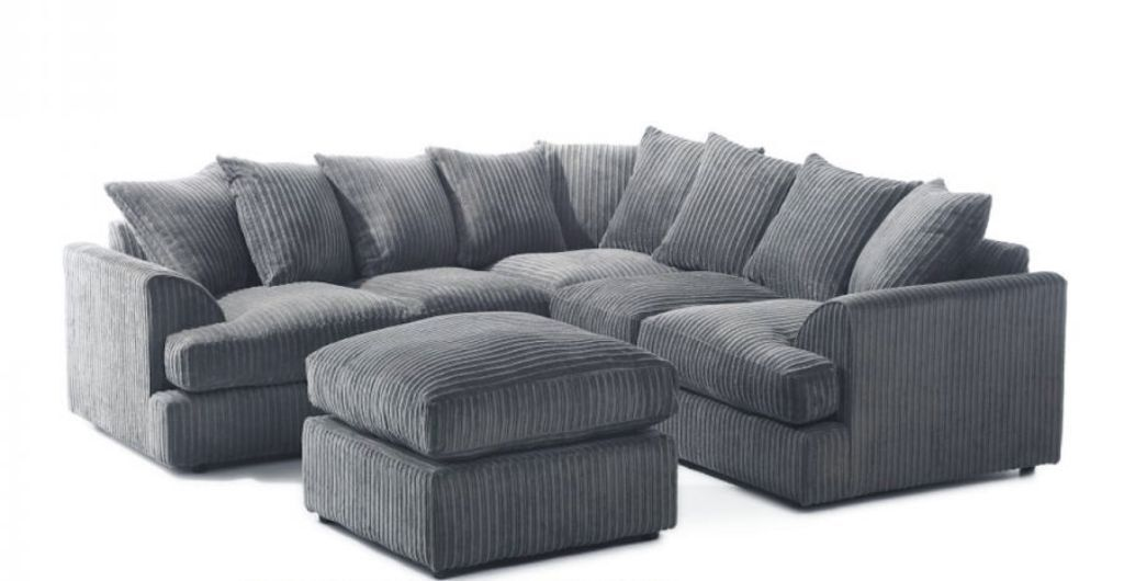 Special offer liverpool jumbo cord corner sofa in for Cord sofa 70er
