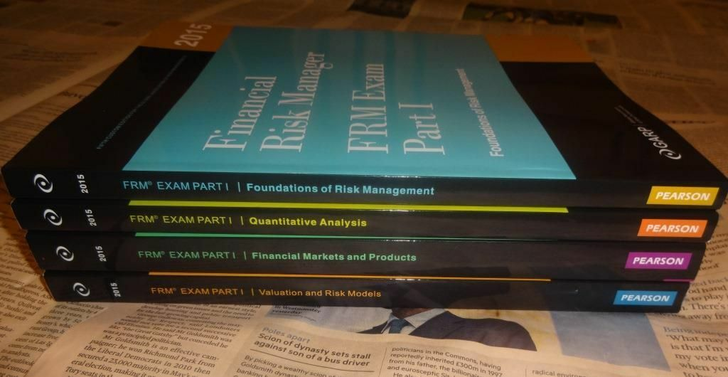2015 FRM Part 1 Official GARP Curriculum Books PRINT EDITION 2015 ...
