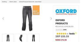 Oxford Super Sliderz 1 kevlar motorbike jeans