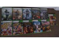 Xbox360 Games (see description)