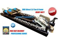 SMC-DIRECT 2.6Ton Car Towing A Frame Recovery Dolly Trailer (Heavy Duty)Tow frame