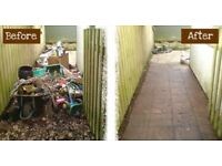 READ THIS --- Waste Rubbish removal in South Wales (can fit up to 2 skip loads per trip)