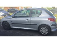 Peugeot 206, great condition , 1.1 engine , cheap insurance