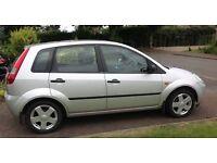 2004 (04 REG) FORD FIESTA ZETEC TDCI,1.4, SILVER, 5 DOOR, IDEAL FIRST CAR