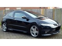 SWAP? HONDA CIVIC TYPE R GT RAGE ALLOYS WITH 4 NEW TYRES