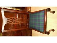 4 mahogany chairs