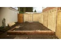 Fencing & paving services