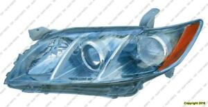 Head Light Driver Side Hybrid Japan Built Toyota Camry 2007-2009