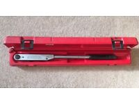Britool EVT600A torque wrench- excellent condition