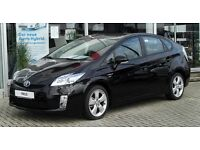 TOYOTA PRIUS FOR RENT AVAILABLE WEEKLY £250 INSURED MINIMUM AGE 21