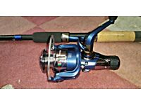 Brand New 10ft Hype Waggler Fishing Rod & New Matching Reel With 2 Spools And 2 Reel Handles