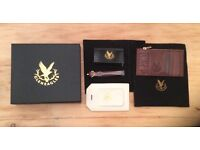Gleneagles Finest Leather gift set Luggage tag and coin purse/ card holder