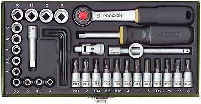 """Proxxon Steckschlüsselsatz 1/4 """" 36-tlg.  Nr. 23080 NEU + OVP"""