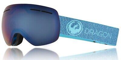 NEW Dragon X1S Mill Lumalens Blue Mirror Mens Snowboard Goggles (Dragon X1s)