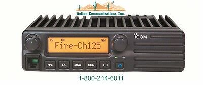 New Icom Ic-f1721d-41 Vhf 136-174 Mhz 50 Watt 256 Channel P25 2-way Radio