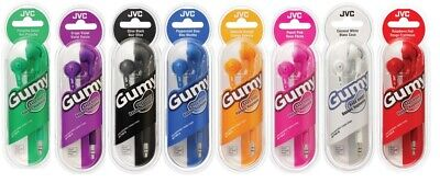 JVC Gummy Headphones New in Retail Sealed Package, All Color