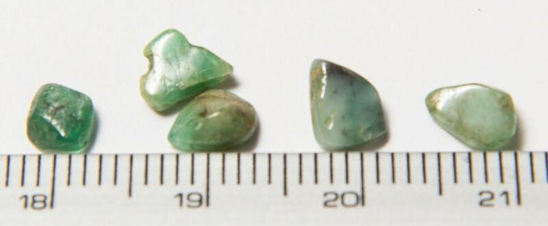 Tamiz Emerald Semi Precious Gemstone Lot