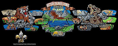 2017 Boy Scout Jamboree Western Colorado Council Patch Set Mic-O-say 541 OA Flap