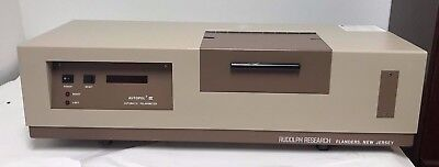 Rudolph Research Autopol Iii Automatic Polarimeter Without Cells