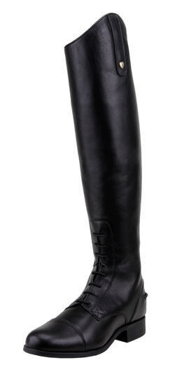 Ariat English BOOTS Womens Heritage Contour Zip 9.5 St Black ...