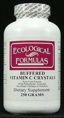 Ecological Formulas - Buffered Vitamin C Crystals, 250 (Buffered Vitamin C Crystals)