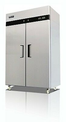 Migali C-2f Commercial Two Door Freezer Reach In 49 Cu.ft. Free Shipping