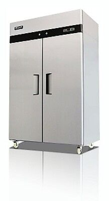 Migali C-2r-hc Commercial Two Door Refrigerator Reach In 49 Cu.ft Free Shipping
