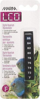 Marina Nova Thermometer - Hagen Marina NOVA Fish Aquarium LCD OUTSIDE Thermometer 72-86 F  NO  C