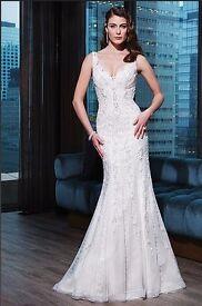Brand New Justin Alexander Signature Wedding Dress Size 12