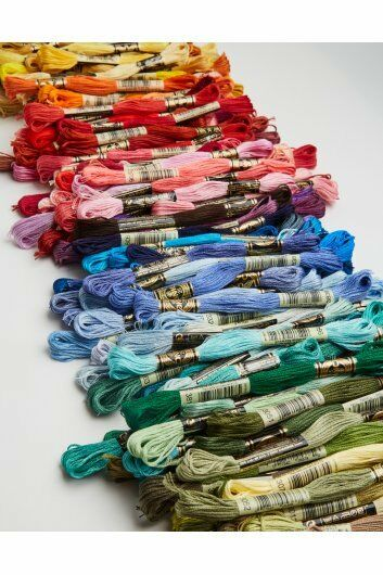 DMC Floss **Pick your color** Buy 6 get 1 FREE- 3750 - 3828