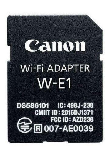 Brand New Wi-Fi Adapter Accessory For Canon W-E1