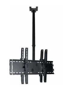 Support double pour TV instalation au plafond IPCE102M-D