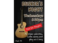 *** New Buskers Night *** Wednesdays 8:30pm at Newsham Hotel, Blyth