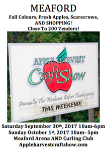 Meaford Apple Harvest Craft Show