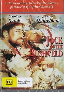JOCK OF THE BUSHVELD - JONATHAN RANDS - NEW & SEALED DVD