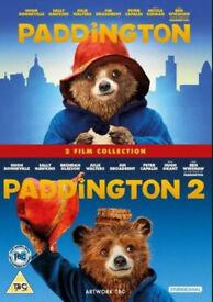 Paddington 1&2 dvds