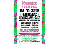 Kubix North East Ticket Sat 2nd October 2021