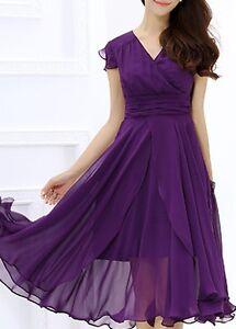 Purple party dress, size XL