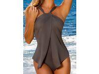 Ladies halter neck swim suit
