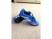 Adidas Predito Astro-Turf Boots Size 10