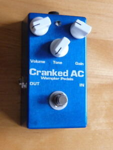 Wampler Pedal Cranked AC overdrive