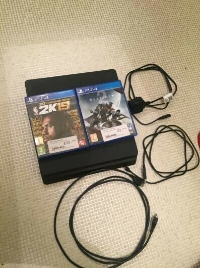 PS4 Slim 500GB With NBA 2K 19 & Destiny 2 *PERFECT CONDITION (No  Controller) | in Gorton, Manchester | Gumtree