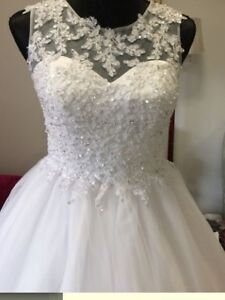 Deb or wedding dress lace bodice Vermont Whitehorse Area Preview