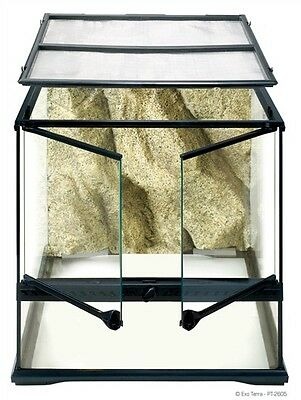 """Hagen Exo Terra Glass Terrarium 12""""x12""""x12"""" tank pt-2600 reptile"""